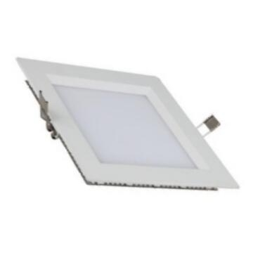 Square Recessed LED Panel Light 12W