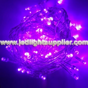 Purple LED String Light