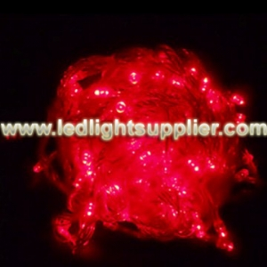 Red LED String Light