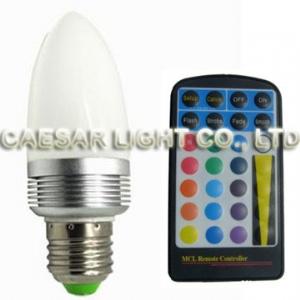RGB LED Bulb C43