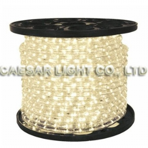 Round 2 Wire Warm White LED Rope Light