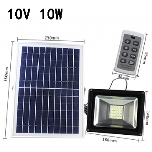 Solar LED Flood Light 10V 10W