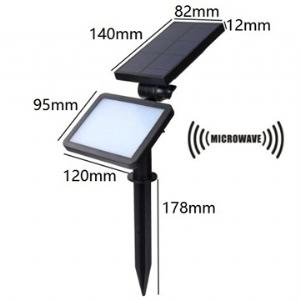 Solar LED Lawn Light Microwave 5.5V 1.6W