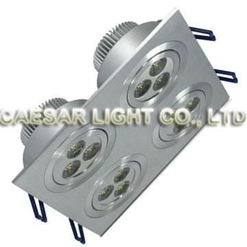 Square Recessed LED Downlight 304